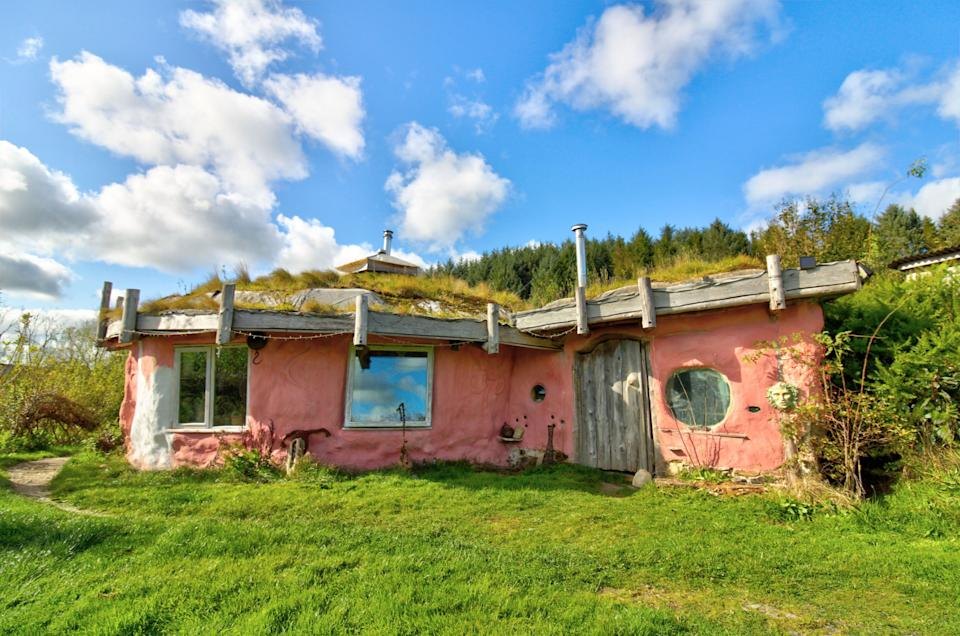 A 'hobbit house' is for sale which comes with its own woodland. (Zoopla/Yopa)