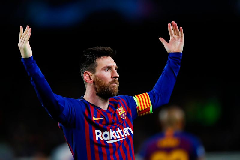 91bfe317f58a Lionel Messi  Twitter reacts to Barcelona legend s 600th goal