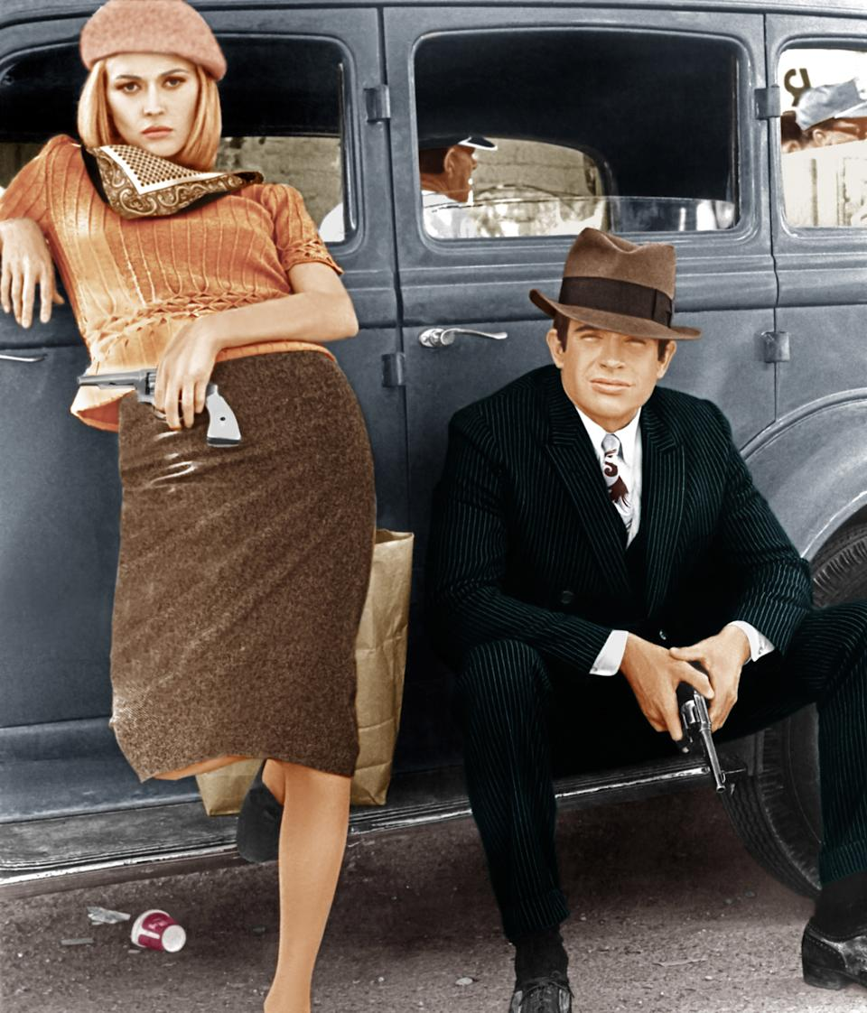 "<h1 class=""title"">BONNIE AND CLYDE, from left: Faye Dunaway, Warren Beatty, 1967</h1><cite class=""credit"">Courtesy Everett Collection</cite>"