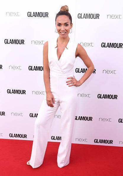 <p>This white jumpsuit from Littlewoods was definitely a good choice, so chic! <i>[Photo: Mike Marsland/Mike Marsland/WireImage]</i></p>