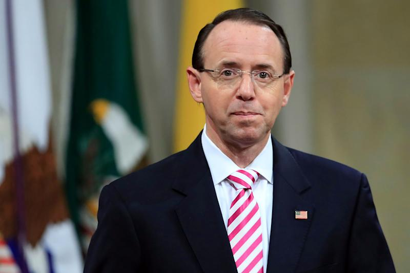 Rod Rosenstein Reportedly May Resign or Be Fired After Claim He Suggested Secretly Recording Trump