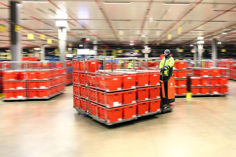 Ocado Eases Investors' Fears After Blaze at Robotic Warehouse
