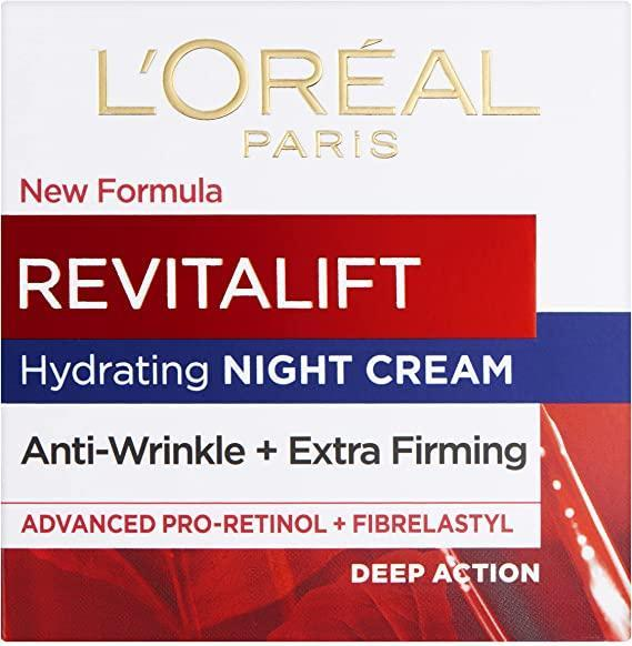 """<h3>L'Oreal Paris Revitalift Triple Power Intensive Day Cream </h3><br>This crowd-pleasing Amazon-beauty buy with its luxuriously nourishing formula left customers' faces feeling plump and moisture-filled. This affordable moisturiser is packed with Pro-Retinol, Hyaluronic Acid, and Vitamin C. One satisfied reviewer refers to this product as her old friend that never lets her down.<br><br><strong>Shop <a href=""""https://www.amazon.co.uk/stores/L%27Oreal+Paris/page/E86E6ECF-047D-486B-BEF7-B72A27A5E07D?ref_=ast_bln"""" rel=""""nofollow noopener"""" target=""""_blank"""" data-ylk=""""slk:L'Oreal Paris"""" class=""""link rapid-noclick-resp"""">L'Oreal Paris</a></strong><br><br><strong>L'Oréal</strong> Revitalift Anti-Wrinkle + Firming Pro Retinol Cream, $, available at <a href=""""https://www.amazon.co.uk/LOreal-Paris-Revitalift-Anti-Wrinkle-Packaging/dp/B000T21LDE/ref=sr_1_2?"""" rel=""""nofollow noopener"""" target=""""_blank"""" data-ylk=""""slk:Amazon"""" class=""""link rapid-noclick-resp"""">Amazon</a>"""
