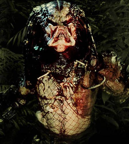<p>PREDATOR (1987): Some aliens arrive in peace, some are out to conquer. The Predator came to take us out one by one. He stands over seven feet tall, can disappear with cloaking technology, and has the best dreads outside of the Caribbean.</p>