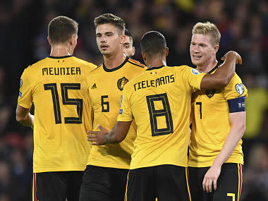 Euro 2020 qualifiers: Belgium, Netherlands hit four goals to clinch victories; Germany secure crucial win over Northern Ireland