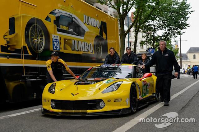"#64 Corvette Racing Chevrolet Corvette C7.R <span class=""copyright"">Marc Fleury</span>"