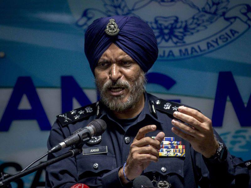 Commercial Crimes director Datuk Seri Amar Singh Ishar Singh says the lengthy remand period for Rosemary since July 18 was necessary as police had to investigate the 136 cheating reports filed by victims from all over the country. ― Picture by FIrdaus Latif