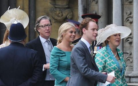 Tom Inskip (right) arrives to attend the Royal Wedding of Prince William to Catherine Middleton at Westminster Abbey, 2011 - Credit: Jasper Juinen/PA