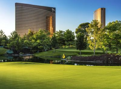 The only resort golf course on the Las Vegas Strip returns to Wynn Las Vegas with the grand reopening of the Wynn Golf Club. The original 18-hole championship course established in 2005 has been reimagined by legendary golf course architect Tom Fazio to give players a new golf experience from the first drive to the last putt.