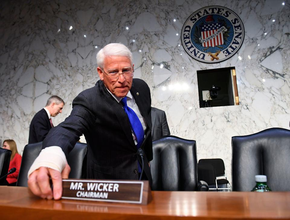 Sen. Roger Wicker, R-Miss., chairman of the Committee on Commerce, Science, and Transportation