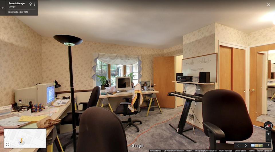 Google's first 'office' gave little indication of the tech behemoth it would become. (Google Maps)