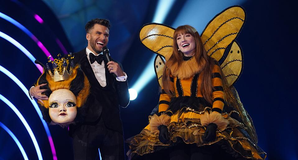 "<a href=""https://uk.news.yahoo.com/tagged/the%20masked%20singer/"" data-ylk=""slk:The Masked Singer"" class=""link rapid-noclick-resp""><em>The Masked Singer</em></a> made it to the UK this year in a series that was won by Girls Aloud's Nicola Roberts. Based off a South Korean format, the thrilling yet bizarre programme proved to be a ratings hit with a second season featuring a <a href=""https://uk.news.yahoo.com/the-masked-singer-season-2-new-characters-102150806.html"" data-ylk=""slk:brand new cast;outcm:mb_qualified_link;_E:mb_qualified_link;ct:story;"" class=""link rapid-noclick-resp yahoo-link"">brand new cast </a>of colourful characters launching Boxing Day 2020. (ITV)"