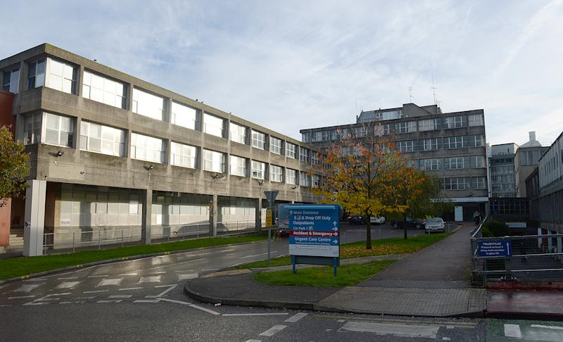 General view of Northwick Park Hospital as staff in England and Northern Ireland to go on strike, Northwick Park Hospital, Harrow, Middlesex.