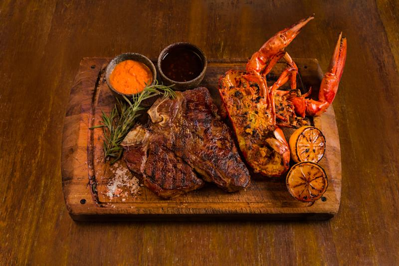 The best of steak & lobster for dads. (PHOTO: Opus Bar & Grill)