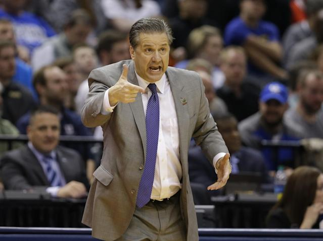 <p>John Calipari, Kentucky: $7,435,376 </p>