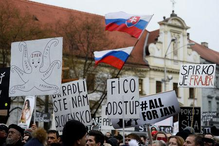 Slovak Premier's Key Ally to Resign as Political Crisis Deepens