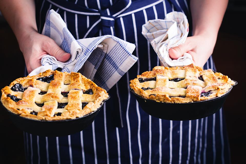 You'd be surprised at how many classic dishes can be made in a cast iron skillet. (Photo: Getty Images)
