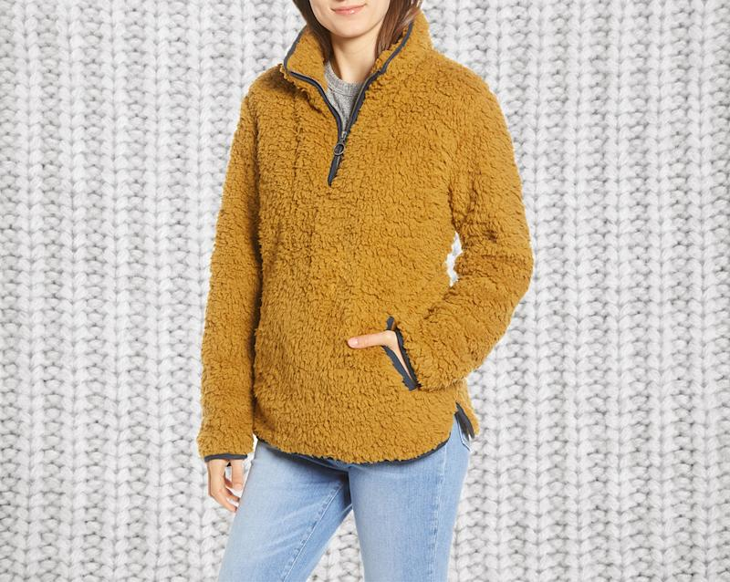 Snuggle up in this cozy pullover. (Photo: Nordstrom)
