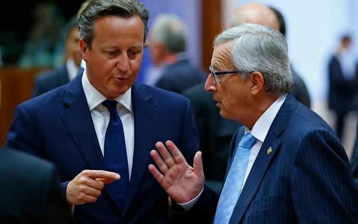 Juncker: 'I should not have listened to David Cameron' - Reuters