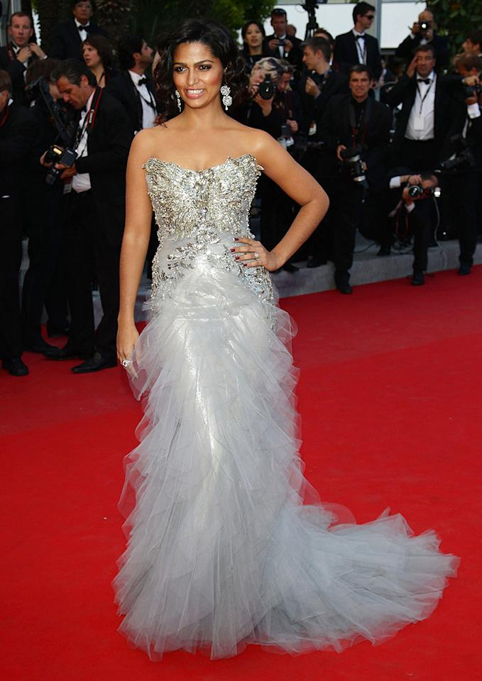 "Across the Atlantic -- at the Cannes Film Festival premiere of ""Mud"" -- Matthew McConaughey's fiancee, Camila Alves, dropped jaws in this Marchesa masterpiece. A wavy 'do and diamond accents gave the Brazilian beauty an extra ounce of va-va-voom. (5/26/2012)"