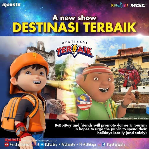 """Monsta will help boost the local tourism industry with """"Destinasi Terbaik""""."""