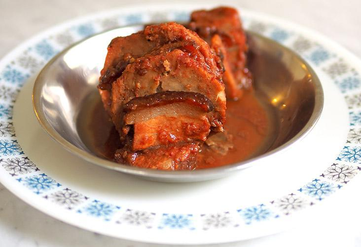 Cherine Home Cooked Food delivers an excellent stewed yam and pork belly dish that my Hakka ancestors will be proud of. – Pictures by Lee Khang Yi
