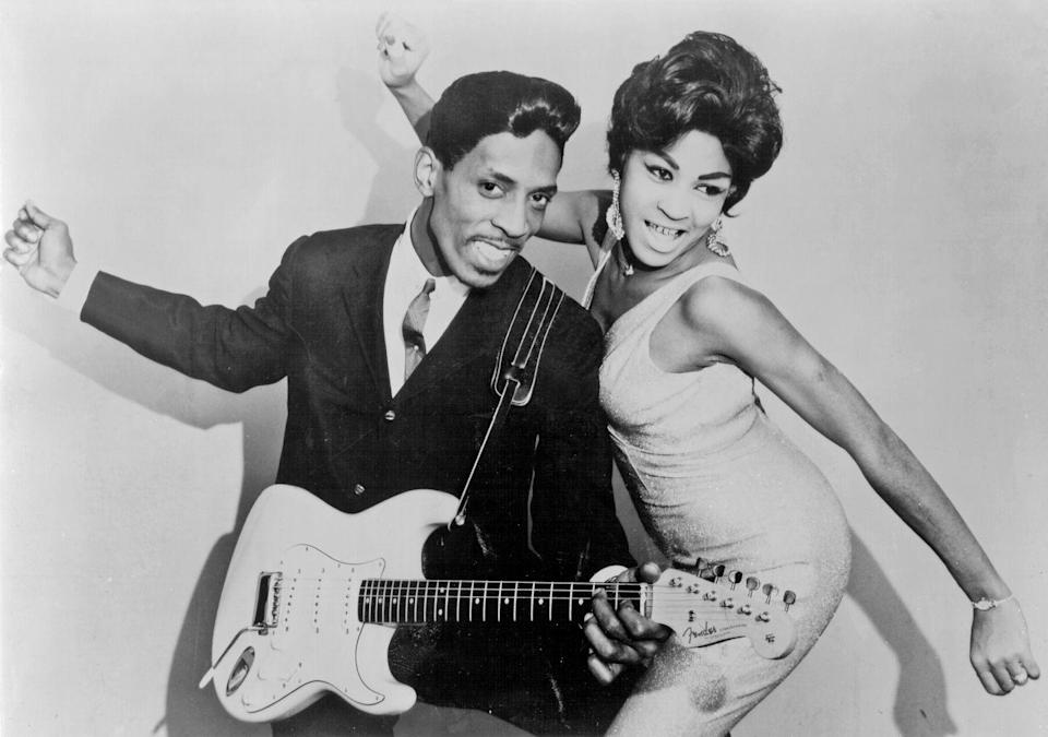 <p>As part of the musical duo, Ike and Tina Turner. </p>