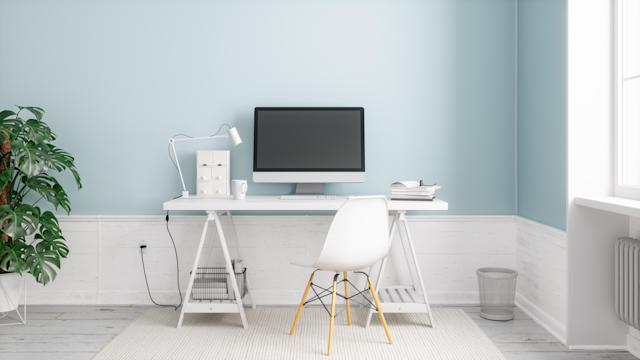 5 ways to make working from home more comfortable. (Getty Images)