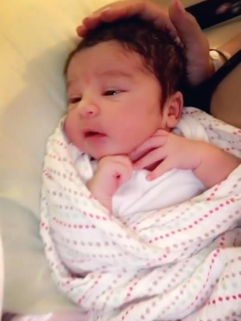 Rob Kardashian Thinks His Newborn Daughter Dream Has A Kris Jenner