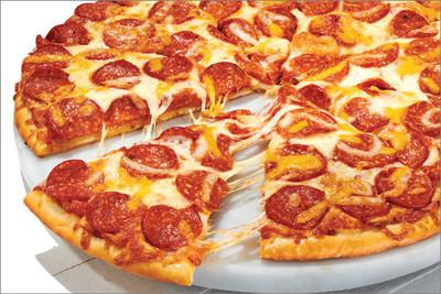 Papa Murphy's Pizza with Happy Little Plants® pepperoni style topping