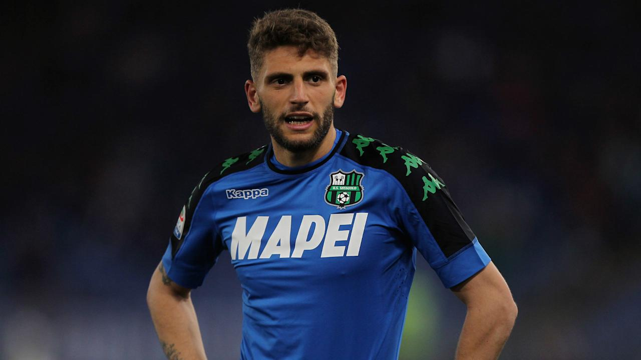 Domenico Berardi, Roberto Gagliardini and Emerson Palmieri are among the names in a youthful Italy squad to face San Marino