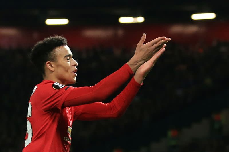 Promising Greenwood needs time before England callup - Solskjaer