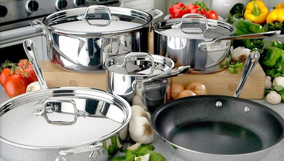 All-Clad cookware is up to 78% off at the brand's VIP Factory Sale
