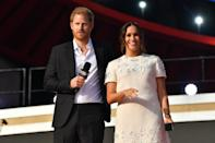 """<p>In October, it was announced that <a href=""""https://www.ethic.com/insights/impactpartnership"""" class=""""link rapid-noclick-resp"""" rel=""""nofollow noopener"""" target=""""_blank"""" data-ylk=""""slk:Harry and Meghan teamed up with Ethic"""">Harry and Meghan teamed up with Ethic</a>, a financial services company that focuses on environmental, social, and governance investing, as impact partners. """"They're deeply committed to helping address the defining issues of our time - such as climate, gender equity, health, racial justice, human rights, and strengthening democracy - and understand that these issues are inherently interconnected. So much so, in fact, that they became investors in Ethic earlier this year and have investments managed by Ethic as well,"""" Ethic said in a statement on its website. </p> <p>In <a href=""""https://archewell.com/news/investing-in-each-other/"""" class=""""link rapid-noclick-resp"""" rel=""""nofollow noopener"""" target=""""_blank"""" data-ylk=""""slk:a separate statement on their Archewell website"""">a separate statement on their Archewell website</a>, Harry and Meghan wrote, """"We believe it's time for more people to have a seat at the table when decisions are made that impact everyone. We want to rethink the nature of investing to help solve the global issues we all face.""""</p>"""