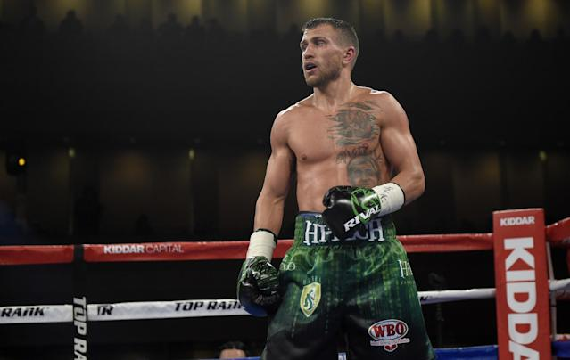 Vasyl Lomachenko might very well be the best pound-for-pound fighter in the world. (AP Photo/Nick Wass)