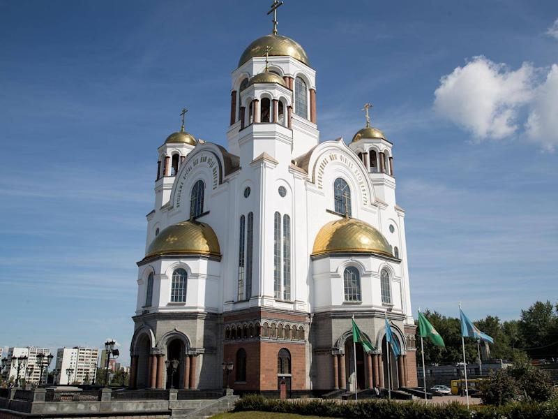Church built on the site where the last tsar of Russia and his family were killed (Getty)