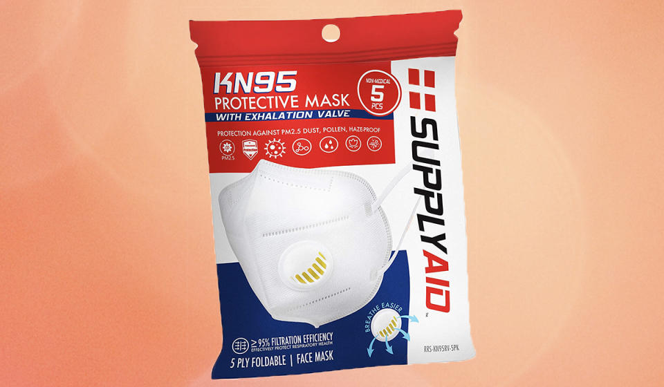 Save big on masks. (Photo: Amazon)
