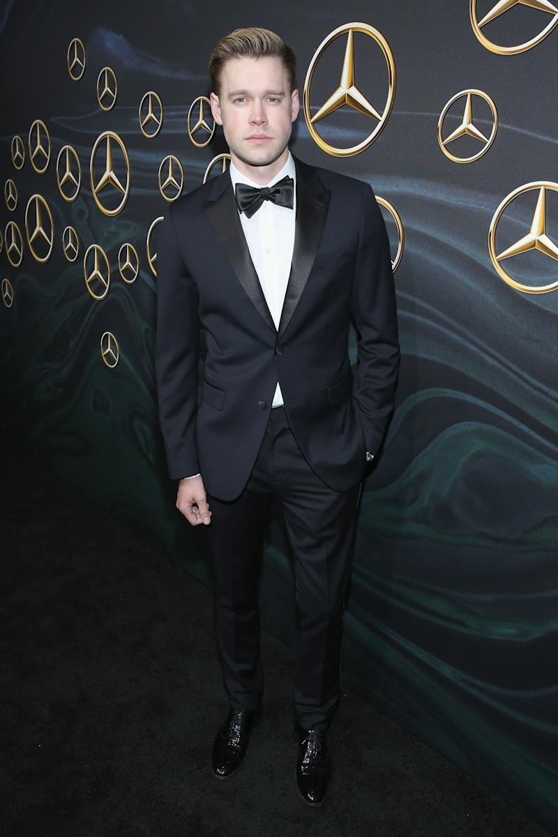 Chord Overstreet attends Mercedes-Benz USA Official Awards Viewing Party. (Phillip Faraone via Getty Images)