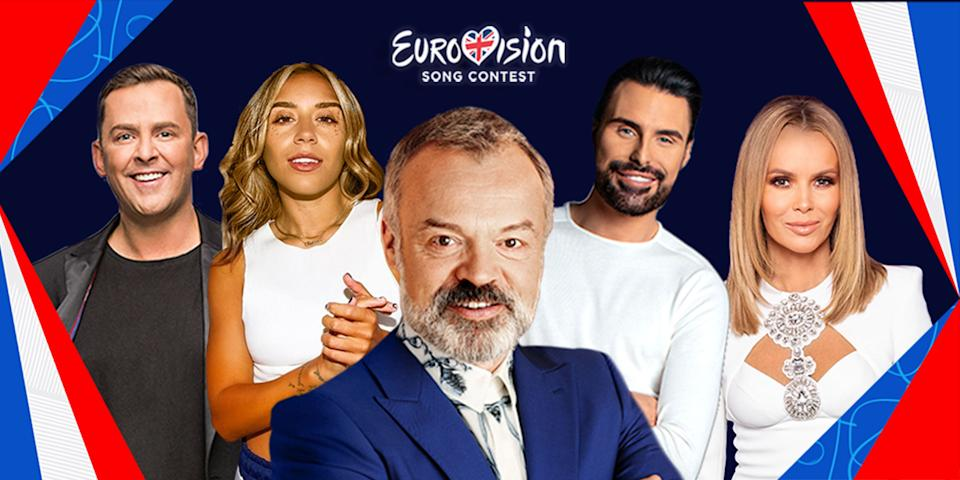 Eurovision 2021 presenting line up (Photo: BBC)