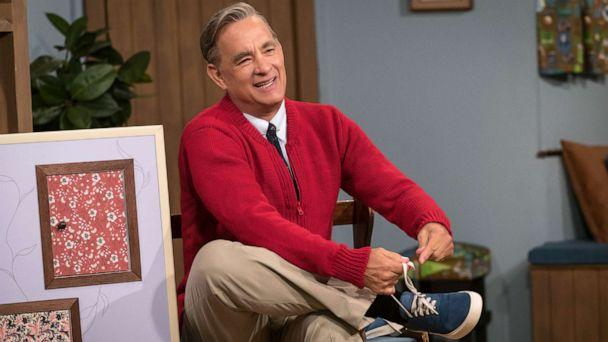 PHOTO: Tom Hanks stars as Mister Rogers in TriStar Pictures' A Beautiful Day In The Neighborhood. (Lacey Terrell/CTMG, Inc./Sony Pictures Entertainment, Inc.)