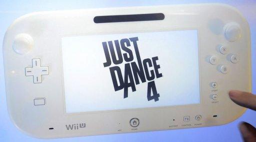 Ubisoft presents Wii U during a media briefing at the E3 2012 in Los Angeles, California, on June 4, 2012
