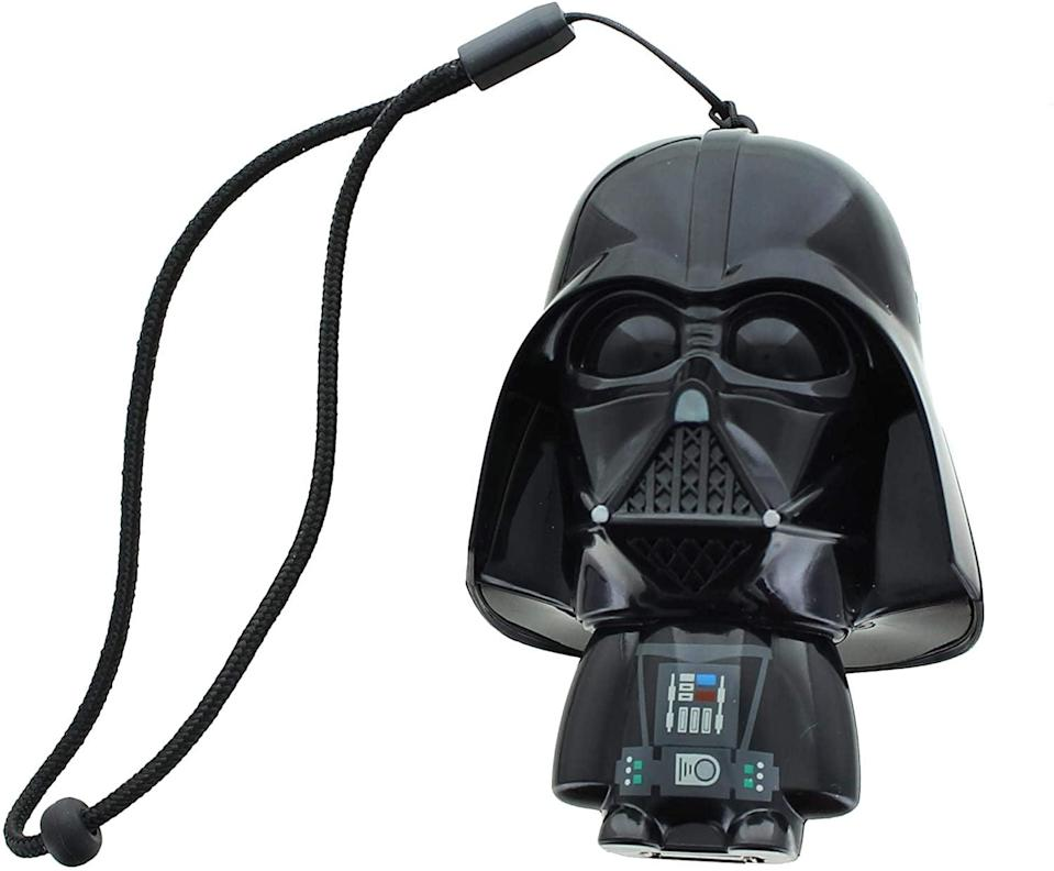 <p>Nobody will mistake their charger for yours if you have this <span>Star Wars Darth Vader USB Charger</span> ($28).</p>