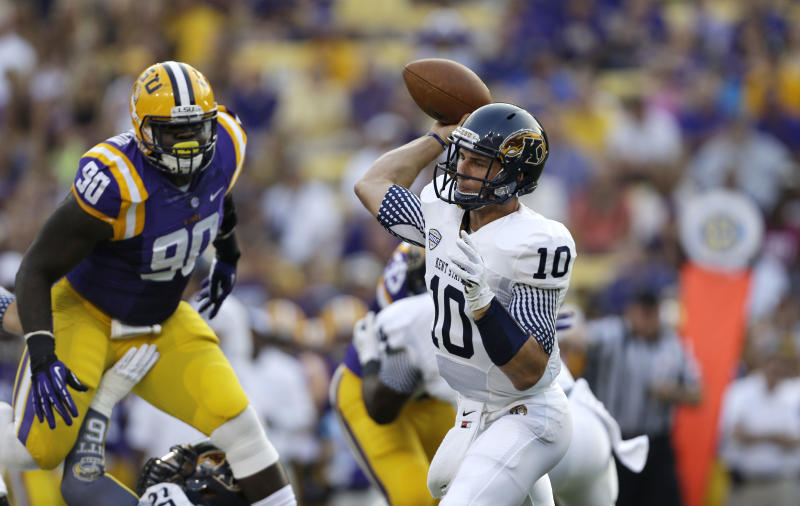 Kent State falls hard to No. 8 LSU, 45-13