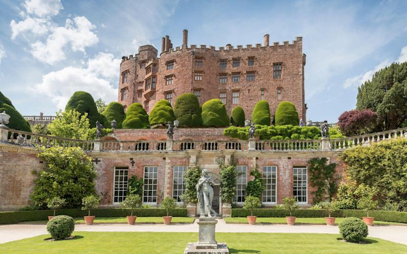 Powis Castle - Chris Howes/Wild Places Photography / Alamy Stock Photo