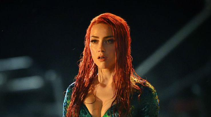 Heard... as Queen of Atlantis Mera in the forthcoming Aquaman - Credit: Warner Bros