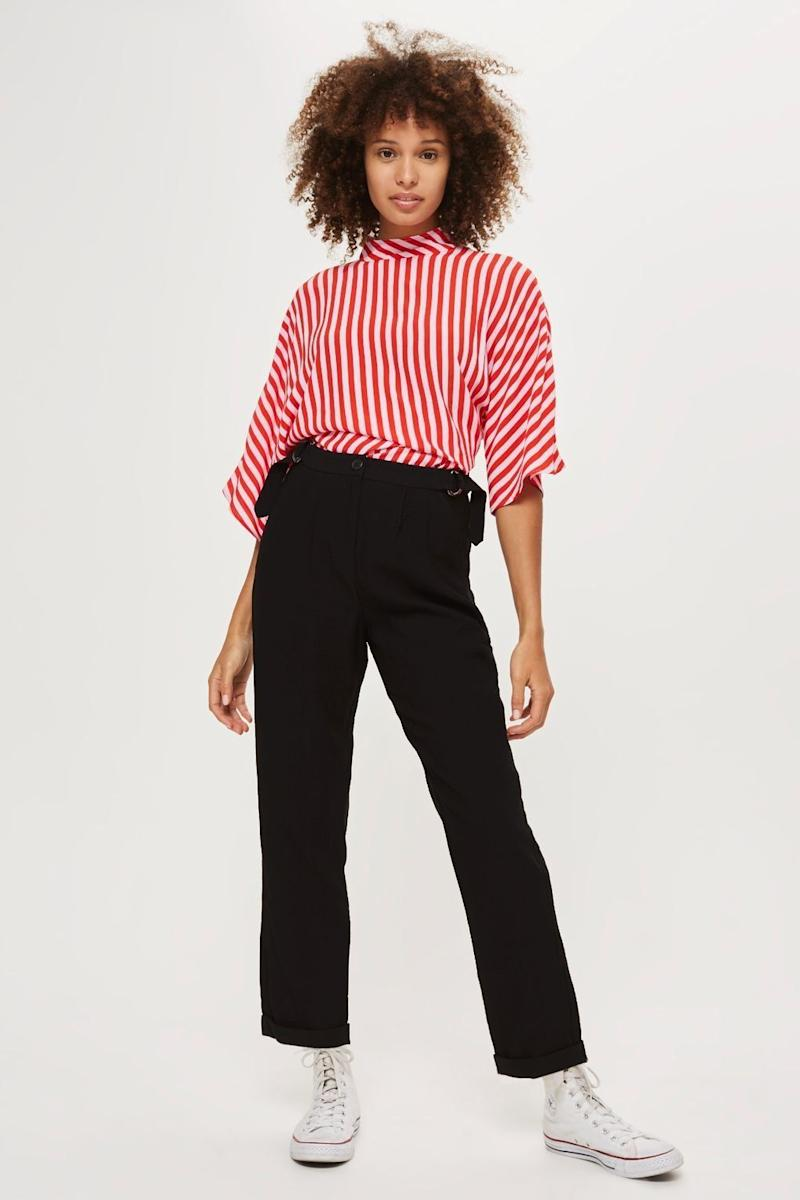 "Get them at <a href=""http://us.topshop.com/en/tsus/product/high-waisted-mensy-trousers-7326395?bi=0&ps=20&Ntt=high%20waisted%20trousers"" target=""_blank"">Topshop</a>, $68."