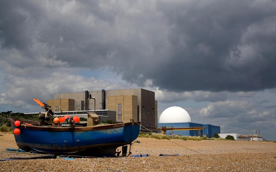 The Sizewell B Power Station in Suffolk - Getty