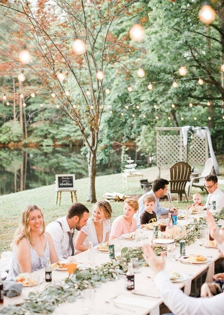 The couple catered with Mexican food (Danielle Riley Photography)