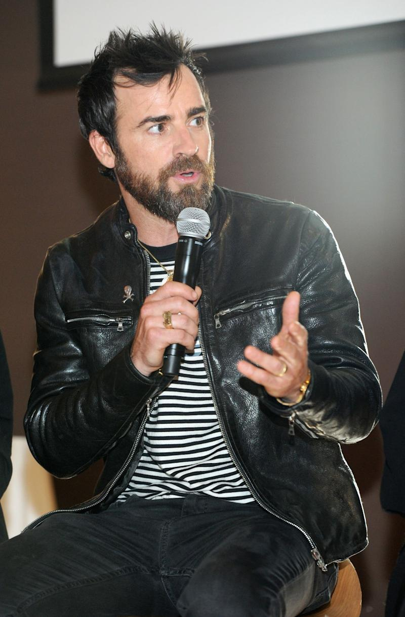 Leather jacket yahoo answers -  The Leftovers In A Leather Jacket With Silver Zippers The Black Skinny Jeans And Black And White Striped T Shirt Gave The Look An Extra Cool Vibe