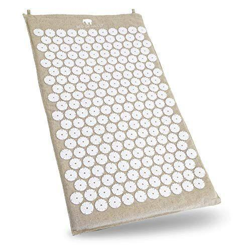 """<p><strong>Bed of Nails</strong></p><p>amazon.com</p><p><strong>$120.00</strong></p><p><a href=""""https://www.amazon.com/dp/B01ICIB1A4?tag=syn-yahoo-20&ascsubtag=%5Bartid%7C10063.g.34631835%5Bsrc%7Cyahoo-us"""" rel=""""nofollow noopener"""" target=""""_blank"""" data-ylk=""""slk:Shop Now"""" class=""""link rapid-noclick-resp"""">Shop Now</a></p><p>Working out often means sore muscles basically all the time. Help your friend relax or find relief with an acupressure mat. This one is eco-friendly and soothing, with benefits like decreasing circulation and stress, helping with sciatica, and relieving daily aches and pains. It's like a spa at home. </p>"""